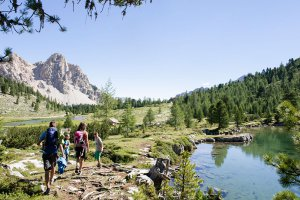 Alpine hut in the Dolomites 3
