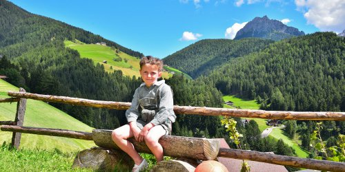 Farm holidays in the Dolomites – Apartment in San Vigilio di Marebbe 1